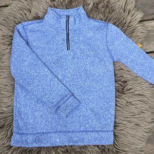 Old Navy mock zip sweater - size 6B